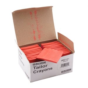 SQUARE TAILORS CRAYON RED SUPER-GLIDE